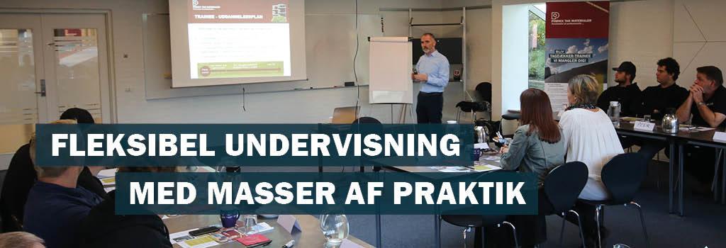 Fleksibel undervisning med masser af praktik